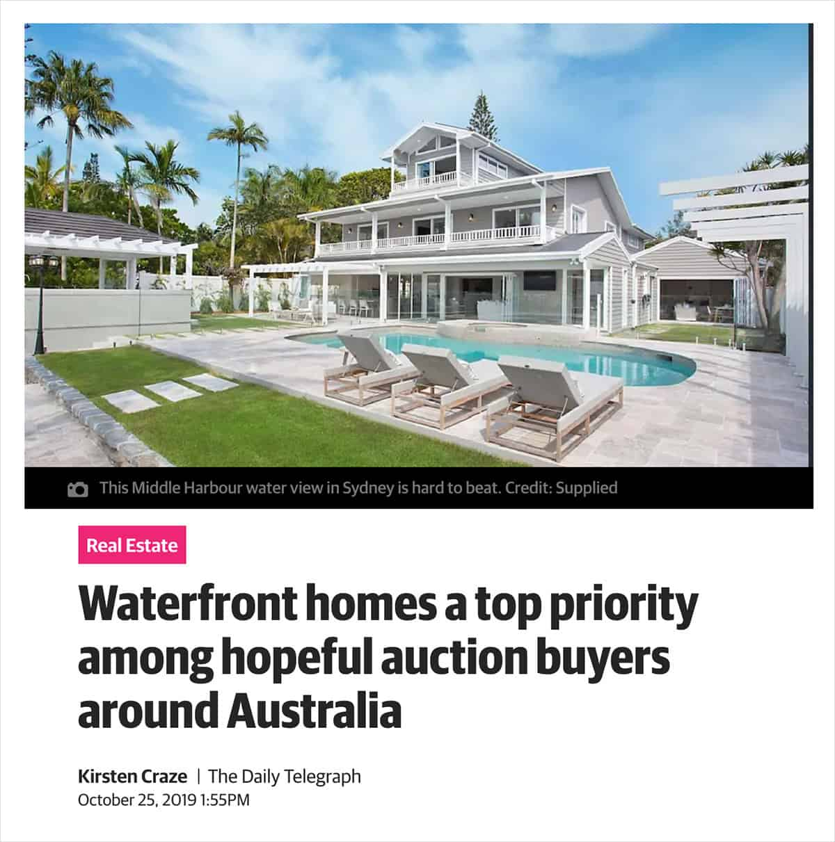 Grand Gold Coast Mansion a Priority - Featured in Perth Now