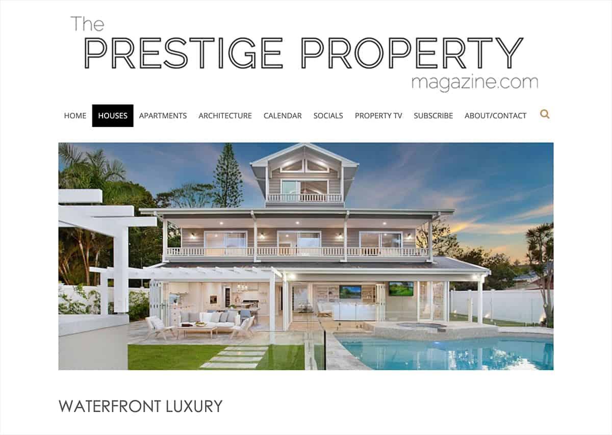 Prestige Property Magazine - Waterfront Luxury
