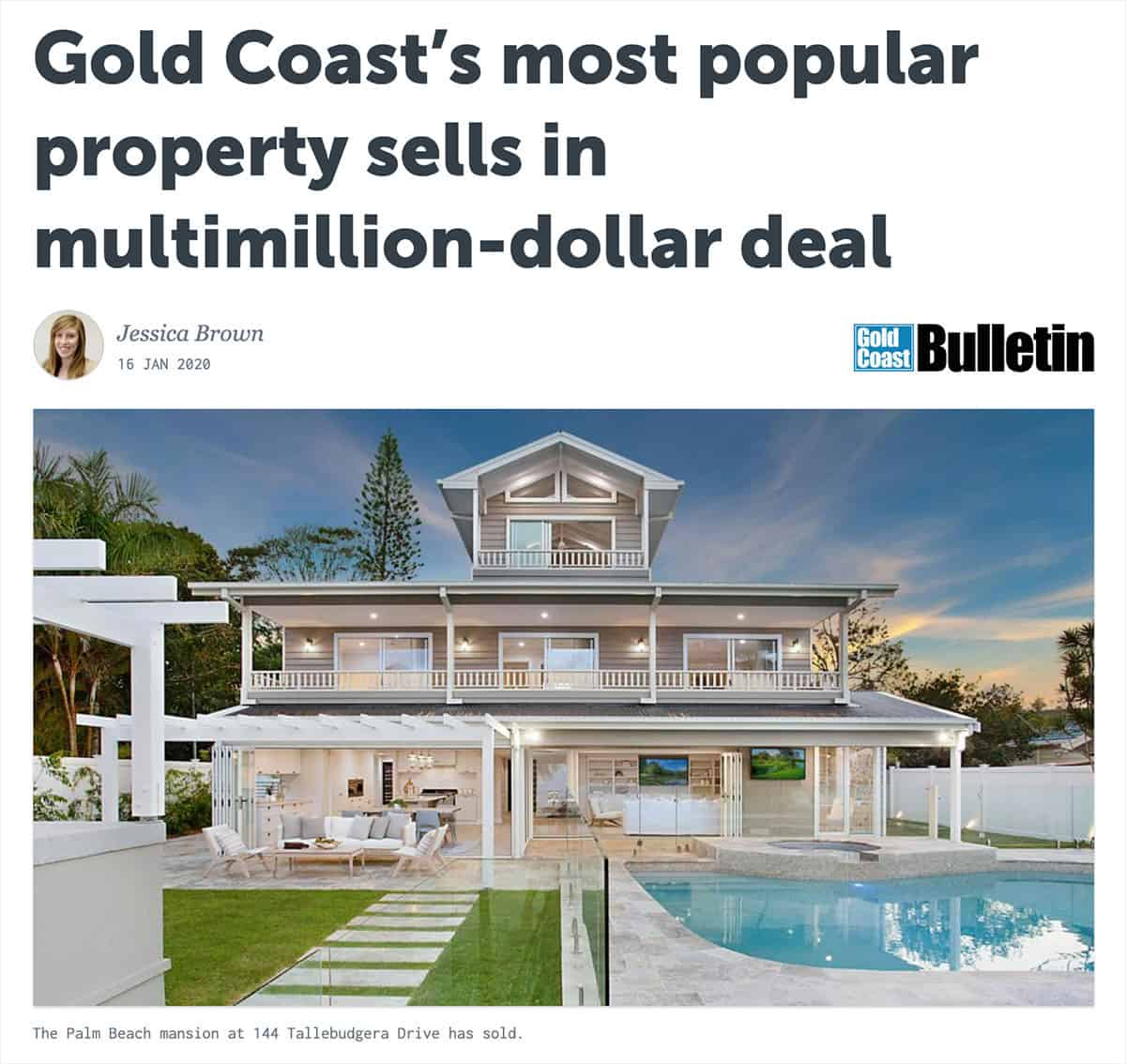 Gold Coast's Most Popular Property is Sold!